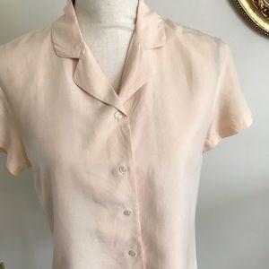 Ann Taylor Loft 100% silk blouse. Size 6